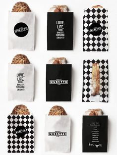 MUSETTE bakery on Branding Served #packaging #food #branding