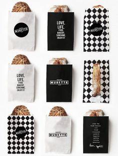 MUSETTE bakery on Branding Served #packaging #food #branding