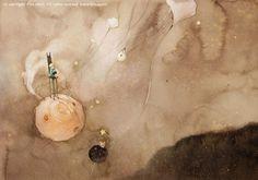 kim ming ji 6 #little #illustration #watercolor #prince