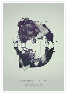 DSORDER IDENTITY on Behance #inspiration #poster #identity