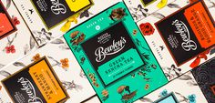 Bewley's Packaging #packaging #design #tea