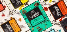 Bewley's Packaging #packaging #design #tea
