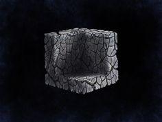 Digital Painting by Ryan Kelly #digital #space #art #cube