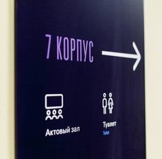 Wayfinding | Signage | Sign | Design | 俄罗斯国立人文大学