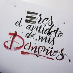 Enisaurus #calligraphy
