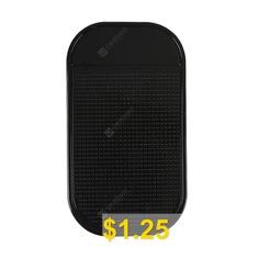Car #Grip #Pad #Non #Slip #Sticky #Anti #Slide #Dash #Cell #Phone #Mount #Holder #Mat #- #BLACK