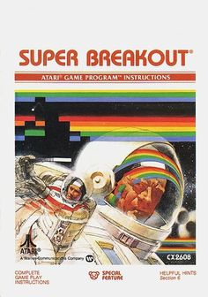 Atari - Super Breakout | Flickr - Photo Sharing! #games #video #illustration #manual #booklet