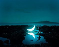 Private Moon by Leonid Tishkov & Boris Bendikov | 123 Inspiration #project #russian #private #photographer #moon