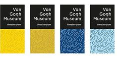 Van Gogh's Brush Strokes - Brand New #logo #identity #branding