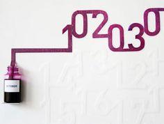 Simple Numbers, Complicated Dates: 49 Innovative Calendars #calendar #cool