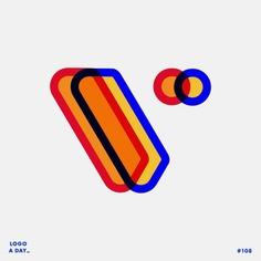 Logo / 108 . Letter V