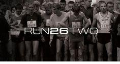 Run26Two by Focus Lab, LLC #logo #running #run26two #branding