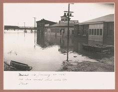 Massive flooding in January 1937. / Photo: Vendome