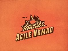 Agile Nomad Logo Concept Proposal #vector #nomad #branding #logo #agile