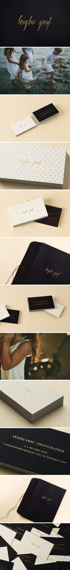 Leigha Graf Photography Brand Identity - One Plus One Design #Brand #Identity #BrandIdentity #Branding
