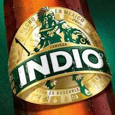 Indio #packaging #beer #bottle