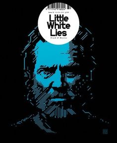 Little White Lies Magazine Cover Tron