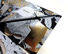 Telling fortunes for Mulberry AW11 « The Construct #fortune #packaging #telling #gold #mulberry #fashion #foil