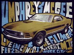 Umphrey's McGee - Gig Poster