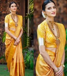 Bridal Kanjivaram Sarees for wedding