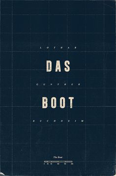 Das Boot book cover redesign on Behance #drama #wartime #redesign #texture #novel #cover #grid #bookcover #minimal #type #adaptation #submarine #german #typography