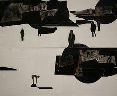 http://www.5piecesgallery.com/product/pawel-mendrek-sun-eclipse #painting #artist #art
