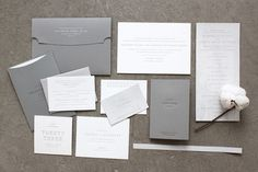 FPO: Margaret & Pat Wedding Materials #brand #identity #branding
