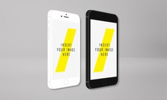 Smartphone screen mock up Free Psd. See more inspiration related to Mockup, Technology, Template, Web, Website, Smartphone, Mock up, Templates, Website template, Screen, Mockups, Up, Web template, Realistic, Real, Web templates, Mock ups, Mock and Ups on Freepik.