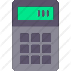 See more icon inspiration related to calculator, maths, calculating, technology and technological on Flaticon.