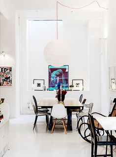 stockholm dining area #interior #design #decor #deco #decoration