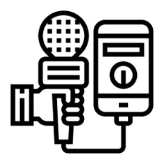 See more icon inspiration related to phone, new, mass media, electronics, communications, information, microphone, communication and mobile on Flaticon.