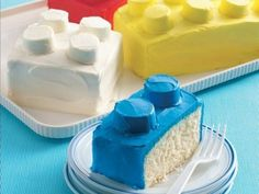 Marine Pajot, Special picture for my dear Maria! (via the Cool... #cake #color #lego #food
