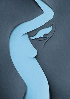 Eiko Ojala Paper Art (3) | #cut #paper #illustration