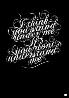 Typeverything.com Understand by Fabian De Lange. - Typeverything #lettering #typography