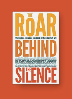 book cover - the roar behind the silence