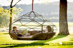 Kodama Zome Hanging Lounger - IPPINKA The Zome is a comfortable and durable lounger that you can use to fully experience relaxation. It's
