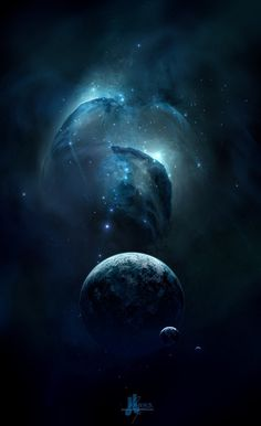 Breathtaking Space Art by Josef Barton | Cuded #universe #fi #sci #space #illustration #galaxy #planets