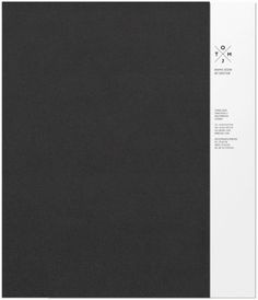 Design Work Life » cataloging inspiration daily #black #different #white #brochure