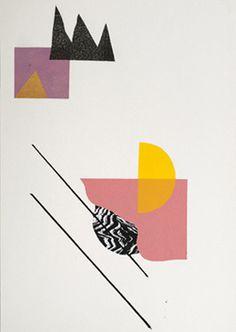 Art Print archive - 2011-2012 - Damien Tran #collage #color