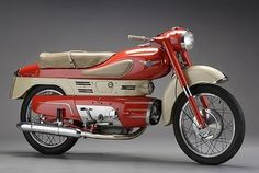 Frank's Design Industry News #red #art #deco #streamline #motorcycle