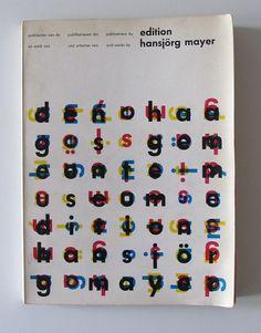 All sizes | Edition Hansjorg Mayer | Flickr - Photo Sharing! #mayer #edition #martens #karel #hansjorg #design #mayer1968 #typography