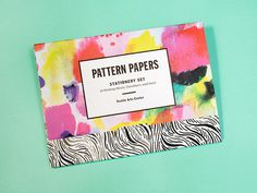 kindah khalidy #papers #print #pattern #stationery