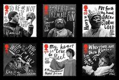 Creative Review - hat-trick design\'s commemorative RSC stamps