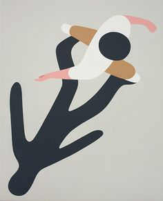 Geoff McFetridge #walk #illustration #shadow