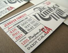 NiceFuckingGraphics! - Blog de diseño gráfico - Part 5 #fonts #red #business #card #grey