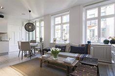 Small apartment in Stockholm - www.homeworlddesign.com (4) #interior #design #scandinavian