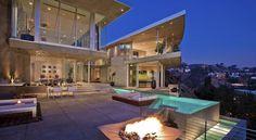 DJ Avicii's Astounding $15.5 Million Property in Hollywood Hills #architecture