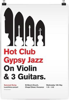 All sizes | Jazz at St Mary's Church | Flickr - Photo Sharing! #jazz #design #graphic #poster #typography