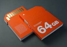 64 GB: 64 Eminent Creatives from Great Britain by Victionary | Inspiration Grid | Design Inspiration #orange #book #publication