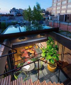 Amazing Loft with Rooftop in Manhattan -2 #interior #design #decor #deco #decoration
